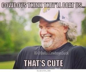 Rob Ryan Cowboys think they'll beat us - that's cute