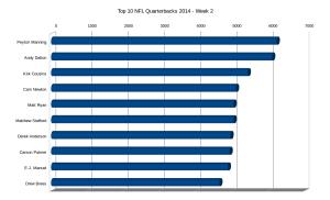 Top 10 NFL Quarterbacks 2014 - Week 2