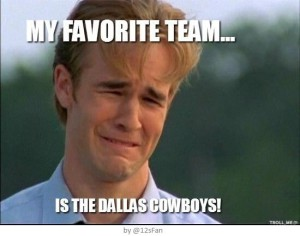 My Favorite Team... is the Dallas Cowboys