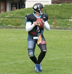 quarterback drop
