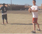 Throwing Progression Drills Standing Parallel
